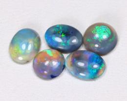 2.23 Cts   Lightning Ridge Black & Semi black  Opals  CCC 2116