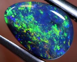 N2 -  1.10   cts    black opal stone lightning ridge TBO-A2985