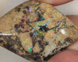 NO RESERVE!! #5-Rough Andamooka Matrix Opal [32467] 53FROGS