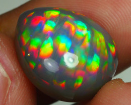9.055CRT RARE! DARK BASE RAINBOW PRISM PUZZLE PATTERN DELUXE WELO OPAL -