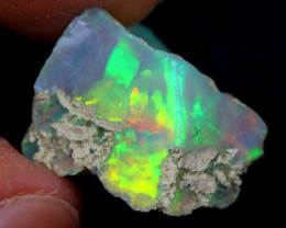 11cts Natural Ethiopian Welo Rough Opal / WR6836