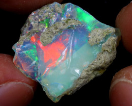 14cts Natural Ethiopian Welo Rough Opal / WR6848