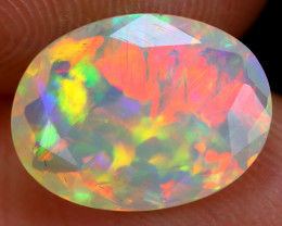 1.95cts Natural Ethiopian Faceted Welo Opal /BF6241