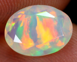 1.22cts Natural Ethiopian Faceted Welo Opal /BF6242