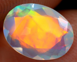 1.04cts Natural Ethiopian Faceted Welo Opal /BF6249