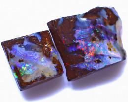 24.08 Carats Boulder Opal Rub Parcel ANO-1530