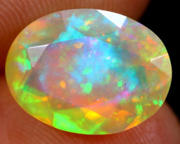 2.57cts Natural Ethiopian Faceted Welo Opal /BF6258