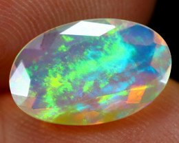 1.69cts Natural Ethiopian Faceted Welo Opal /BF6261