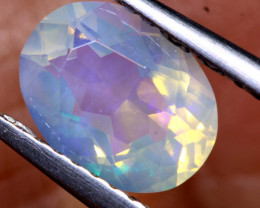 0.90 CTS CRYSTAL OPAL FACETED STONE L.RIDGE  TBO-A2997