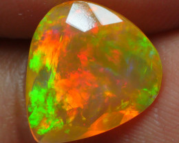 2.275 CRT BRILLIANT FACETED BROADFLASH FIRE WELO OPAL-