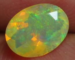 0.550 CRT BRILLIANT FACETED FLOWER WELO OPAL-