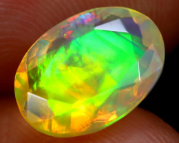 1.79cts Natural Ethiopian Faceted Welo Opal /BF6294