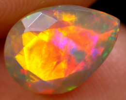 1.84cts Natural Ethiopian Faceted Welo Opal /BF6299