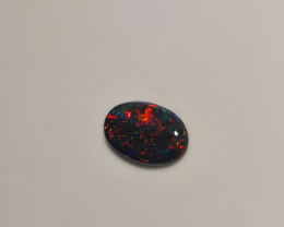 1.20ct SOLID Lighting Ridge RED FIRE