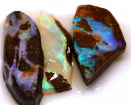 31cts boulder opal pre shaped rub parcel ado-7916
