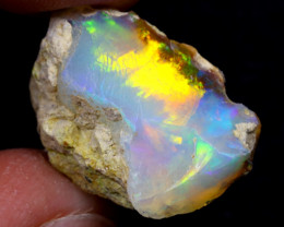 10cts Natural Ethiopian Welo Rough Opal / WR6856