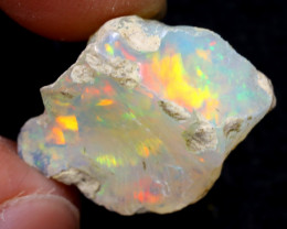 8cts Natural Ethiopian Welo Rough Opal / WR6858