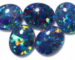 9.00 Cts   Parcel 5 Australian Triplet  Opals CCC 2563