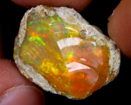 13cts Natural Ethiopian Welo Rough Opal / WR6871