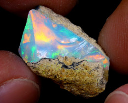 8cts Natural Ethiopian Welo Rough Opal / WR6876