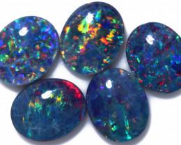 9.00 Cts   Parcel 5 Australian Triplet  Opals CCC 2565