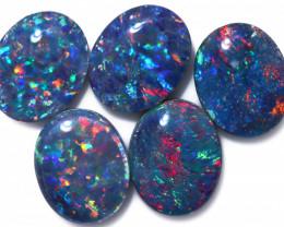 9.00 Cts   Parcel 5 Australian Triplet  Opals CCC 2567