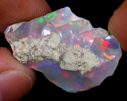 16cts Natural Ethiopian Welo Rough Opal / WR6886