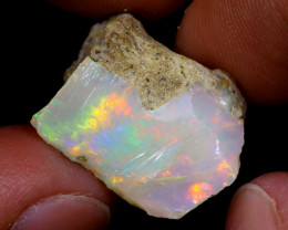16cts Natural Ethiopian Welo Rough Opal / WR6887