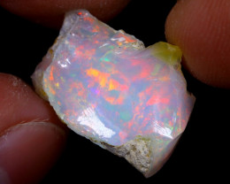 8cts Natural Ethiopian Welo Rough Opal / WR6888