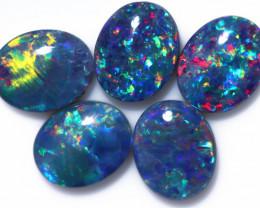 9.00 Cts   Parcel 5 Australian Triplet  Opals CCC 2570