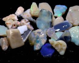 50cts lightning ridge opal rough parcel ado-7923-adopals