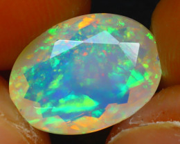 Welo Opal 2.72Ct Natural Ethiopian Play of Color Opal JR208/A44