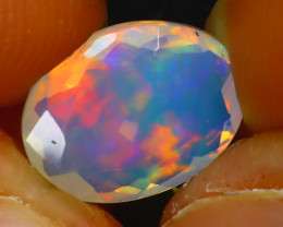 Welo Opal 1.95Ct Natural Ethiopian Play of Color Opal JR209/A44