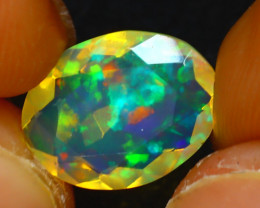Welo Opal 1.66Ct Natural Ethiopian Play of Color Opal JR210/A44