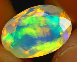 Welo Opal 2.36Ct Natural Ethiopian Play of Color Opal JR213/A44