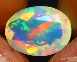 Welo Opal 1.71Ct Natural Ethiopian Play of Color Opal JR216/A44
