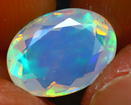Welo Opal 2.03Ct Natural Ethiopian Play of Color Opal JR232/A44