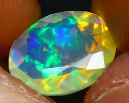 Welo Opal 1.60Ct Natural Ethiopian Play of Color Opal JR238/A44