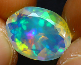 Welo Opal 1.62Ct Natural Ethiopian Play of Color Opal JR239/A44