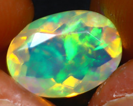 Welo Opal 1.70Ct Natural Ethiopian Play of Color Opal JR243/A44