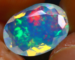 Welo Opal 1.97Ct Natural Ethiopian Play of Color Opal JR244/A44
