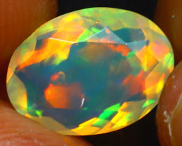 Welo Opal 1.60Ct Natural Ethiopian Play of Color Opal JR245/A44