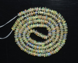 20.50 Ct Natural Ethiopian Welo Opal Beads Play Of Color OB277