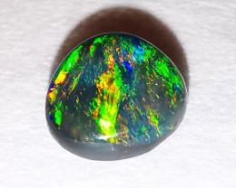 Lightning Ridge Australia - Solid Black Opal - 0.35 cts