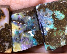 36.80 cts boulder opal rub parcel ado-7953