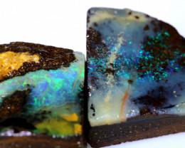 29.80 cts boulder opal rub parcel ado-7954