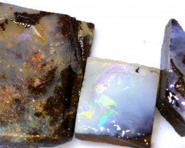 28.90 cts boulder opal rub parcel ado-7959