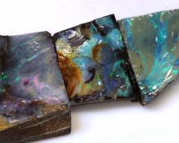 41.30 cts boulder opal rub parcel ado-7965