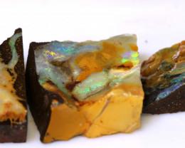 42.00 cts boulder opal rub parcel ado-7968