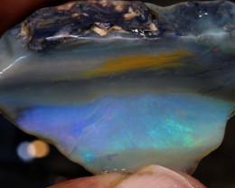 31.70cts lightning ridge  opal rough dt-a4628